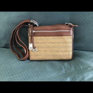 Brighton Bags - Brighton Boyd City Handbag Organizer Brandy Straw